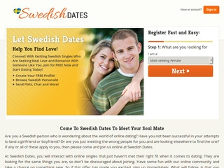 internet dating sweden